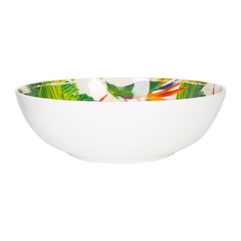 Exotic Flowers Salad Bowl