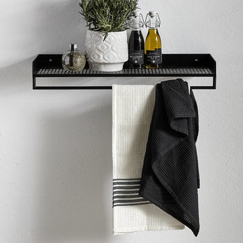 Rectangle Wire Shelf - Black