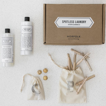 Norfolk Natural Living Spotless Laundry Set