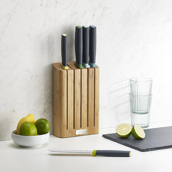 Elevate Bamboo Knife Set - 5 Pieces