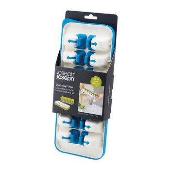 QuickSnap Plus Ice Cube Tray - White/Blue