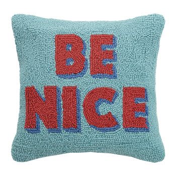 Be Nice Cushion - 35x35cm