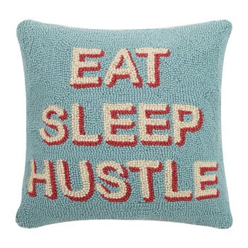 Eat Sleep Hustle Cushion - 40x40cm