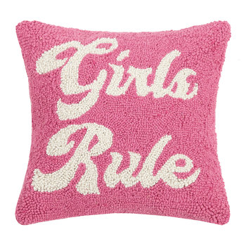 Girls Rule Cushion - 35x35cm