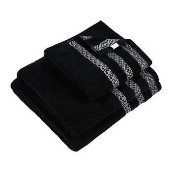 Black Stripe Towel