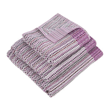 Purple Dash Towel