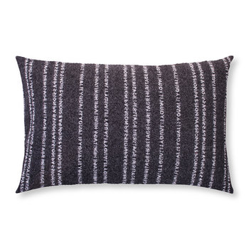 Believe In Cushion - Black