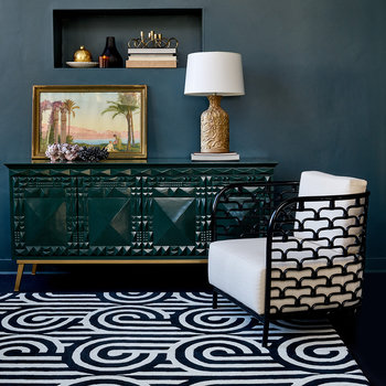 Turnabouts Rug - Black