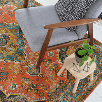Perennials Bidjar Rug - Orange