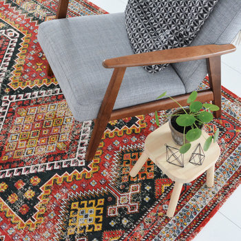 Perennials Kashmir Rug - Red