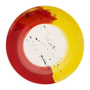 Fabbro Swish Large Serving Bowl - Red and Yellow