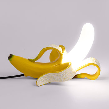 Banana Lamp - Huey - Yellow