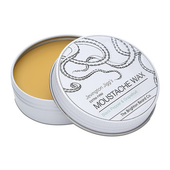 Jevington Jigg's Moustache Wax - Black Pepper & Grapefruit