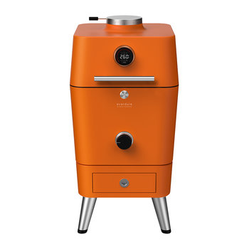 4K Electric Ignition Outdoor Oven with Cover - Orange