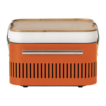 Cube Charcoal Portable BBQ - Orange