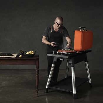 Furnace Gas BBQ with Stand - Orange