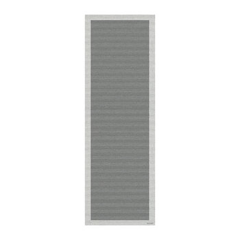 Family Vinyl Floor Mat - Gray