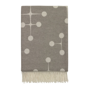 Eames Dot Pattern Blanket - Taupe