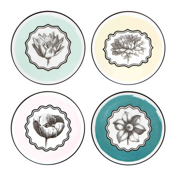Herbariae Coasters - Set of 4