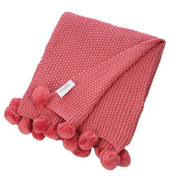 Bon Bon Throw - 100x120cm - Coral