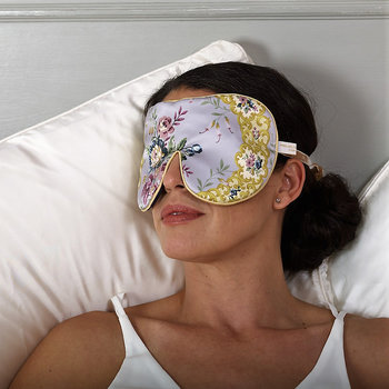 Liberty Print Silk Eye Mask - Filligree