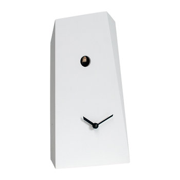 Monolith Wall Clock - White