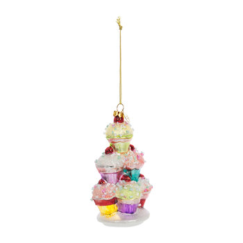 Cupcake Tower Tree Decoration