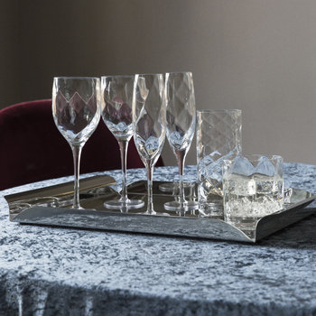 Optic Champagne Flutes - Set of 4