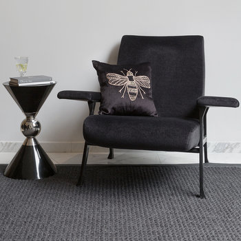 Hourglass Stool - Black