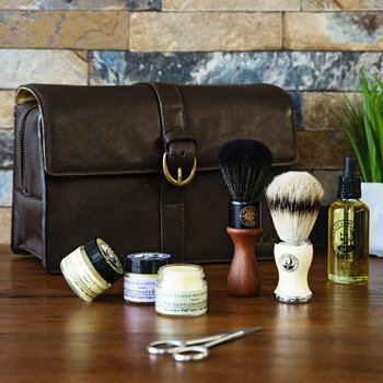 Eau De Parfum, Moustache Wax & Beard Oil Gift Set