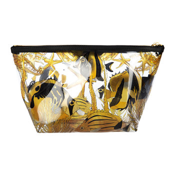 Fish Vinyl Cosmetic Bag