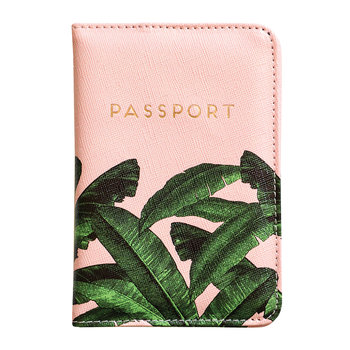 Banana Leaf Luggage Tag & Passport Cover