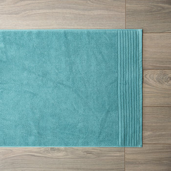 Cotton Bath Mat - Steel Blue