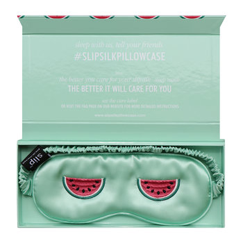 Limited Edition Silk Eye Mask - Watermelon Cooler