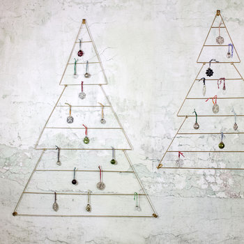 Talini Christmas Tree - Antique Brass