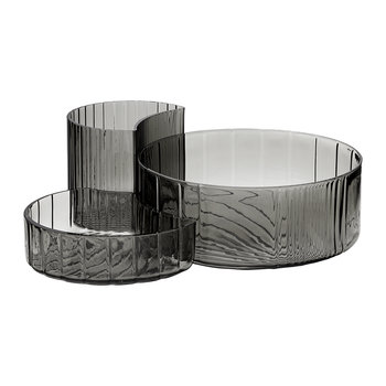 Concha Bowls - Set of 3 - Black