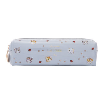 Cat Pencil Case - Blue