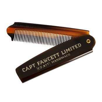 Beard Oil & Folding Pocket Beard Comb