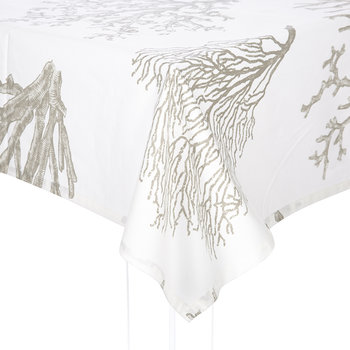 Bonifacio Coated Table Cloth - Grey