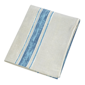 Hacienda Table Cloth - 160 x 260cm - Blue/Gray