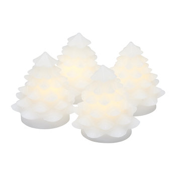 Carla Mini Wax Light Decoration - Set of 4