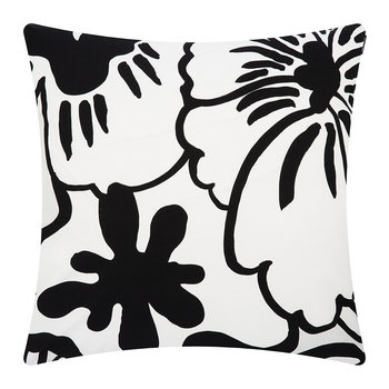 Elakoon Elama Cushion Cover - Light Grey/White