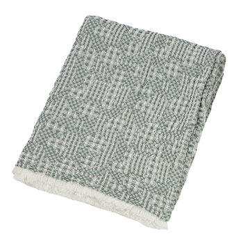 Talin Stonewashed Throw - Aqua