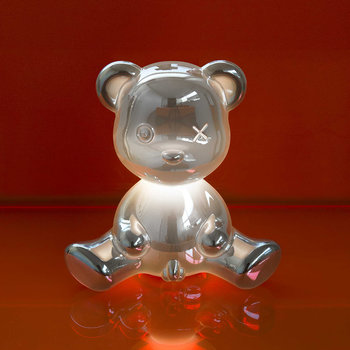 Teddy Boy Metall-Lampe - Silber