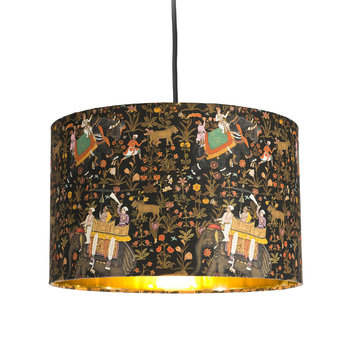 Hindustan Anthracite Drum Ceiling Light