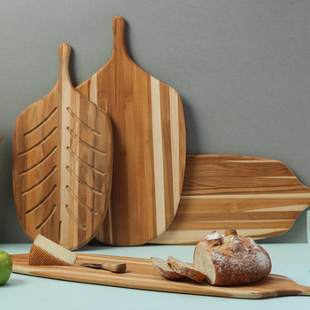 Small Canoe Bread Board