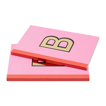 A5 Softcover-Notizbuch - Hot Pink & Orange