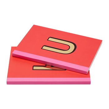 A5 Softcover Notebook - U