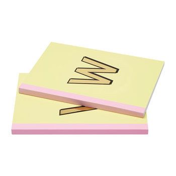 A5 Softcover Notebook - W