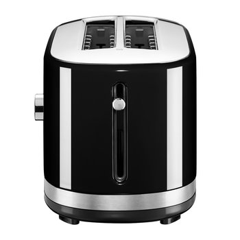 Manual Control Long Slot Toaster - 4 Slot - Onyx Black